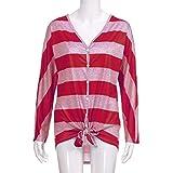 AmazingDays Damen Tops Longshirts O...