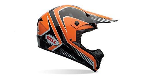 Bell Casco de motocicleta de 1,Adult Casco, color Race Naranja,...