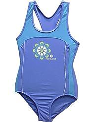 Liquid Sport Doly - Bañador para niña de 14 años, color azul