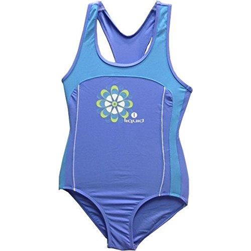 LIQUID SPORT Doly Mädchen Badeanzug, Blau