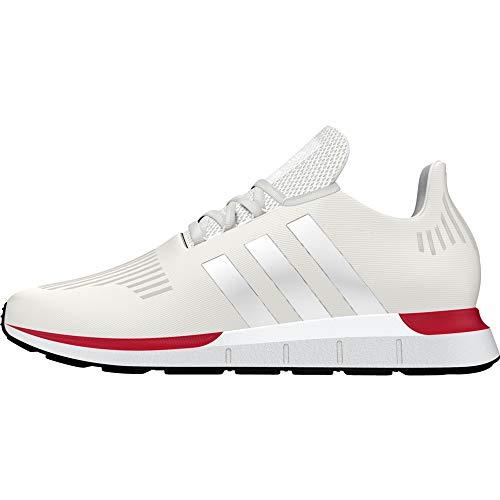 adidas Herren Swift Run Sneaker, Weiß (Crystal White/Crystal White/FTWR White 10013275), 42 EU