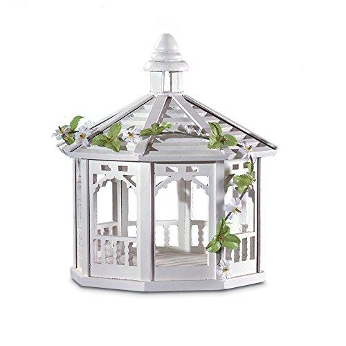 Koehler 3020926,7cm weiß Futterhaus Pavillon mit Vines