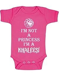 I 'm I'm A no es un princesa de bebé de costura para chalecos de Khaleesi con estuche cm de diámetro de chica de mono de bebé pijama printed mugs