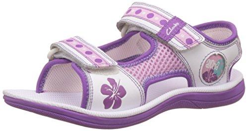 Girl's Leather Clarks Sandals Fashion Clarks wPkZuTXOi