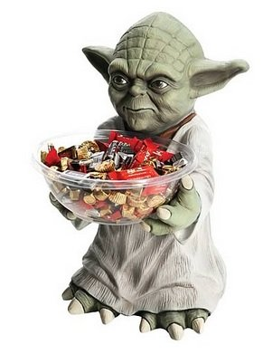 Star Wars Yoda Süssigkeiten-Halter - Candy Bowl Holder Candy Dish Holder
