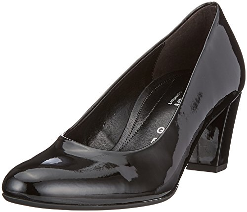 Gabor Shoes Damen Comfort Fashion Pumps, Schwarz (Schwarz), 41 EU