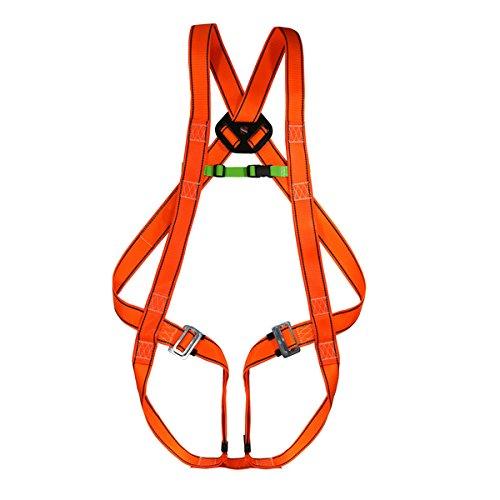 Imbracatura da scalata di sicurezza, EN 361, colore: arancione