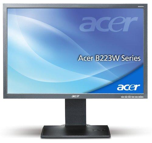 Acer B223W 55,9 cm (22 Zoll) TFT Monitor dunkelgrau DVI (Kontrast dyn. 2500:1, 5ms Reaktionszeit) - 2
