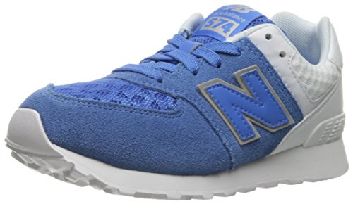 New Balance KL574V1 Pre Breathe Pack Fashion Sneaker (Little Kid) Blue/Grey