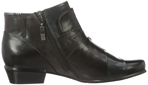 Piazza 961531, Bottes Classiques femme Noir - Schwarz (Black/Piombo/Petrolio)