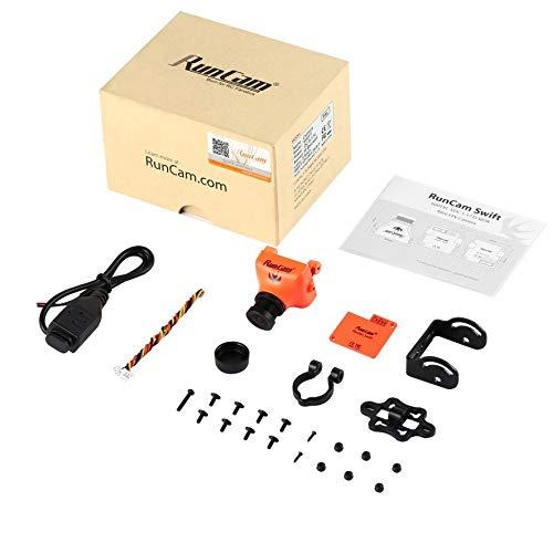 8Eninine Runcam Swift Orange 600 Tvl Horizontale Fov 90 FPV Pal Kamera 2,8 Mm Objektiv Super-had-ccd-sensor
