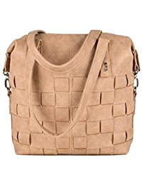 Zwei Two Conny Opticlear Z Bags Handbag Shoulder Bag Faux Leather Satchel/Handbag, Colour: Weave Grain
