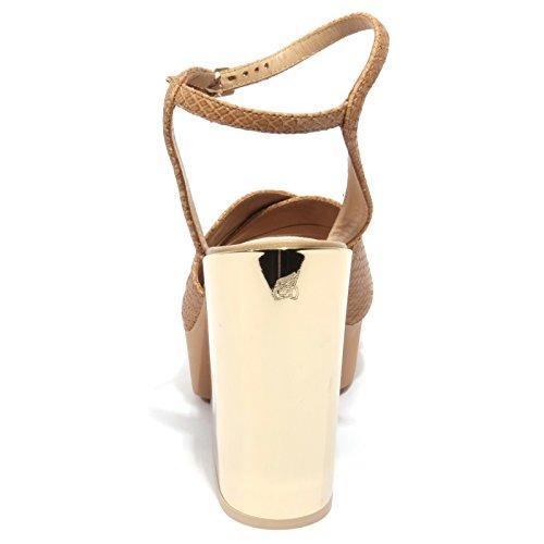 B1738 Sandalo Donna Hogan Scarpa Beige Chaussures Femmes Beige