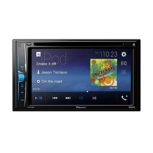 Pioneer AVH-A200BT Sintolettore 2 in CD/Dvd, Nero