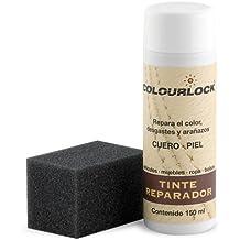 Tinte reparador cuero/piel F012 (BEIGE CLARO), 150 ml Colourlock® restaura el color del cuero en coches, sofás, ropa, bolsos