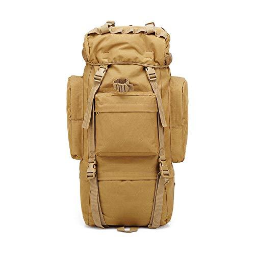 Grtodnz 65L wasserdichter taktischer/Militär- / Molle-Rucksack, interner Rahmen-Rucksack für das Kampieren, das reisendes Klettern mit Regen-Abdeckung wandert,1