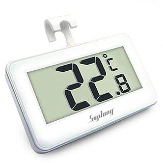 Kühlschrankthermometer Digital Kühlschrank Thermometer AIGUMI Mit einfach zu lesen LCD-Display Thermometer