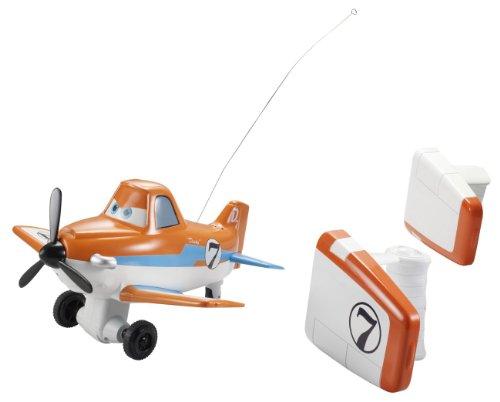 Mattel Disney Planes BJD43 - Sprechender Action-Flieger Dusty, inklusive 2 Steuerungen