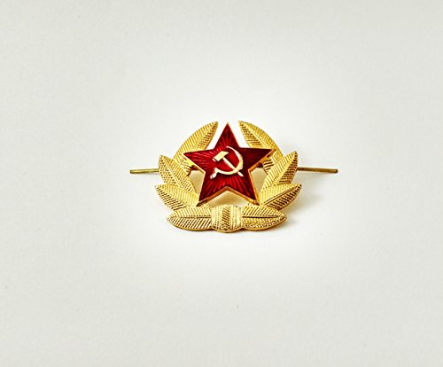 Russian Army Large Pin Cockade Badge Soviet USSR Military Hat Cap