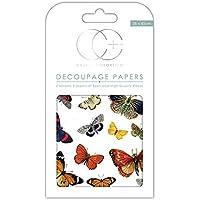 Craft consorcio papel para Decoupage, diseño de Premium–diseño de mariposas