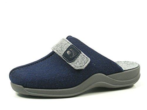 Rohde Damen Vaasa-D Pantoletten, Blau (Ocean 56), 38 EU