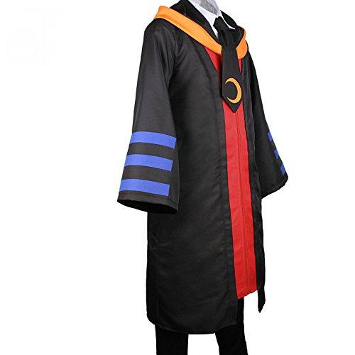 Assassination Classroom Ansatsu Kyoushitsu Koro-sensei Cosplay Costume(Mailen Sie uns Ihre Größe),Größe M:(160-165 (Sensei Kostüm)
