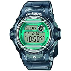 Casio Baby-G – Damen-Armbanduhr mit Digital-Display und Resin-Armband – BG-169R-8BER