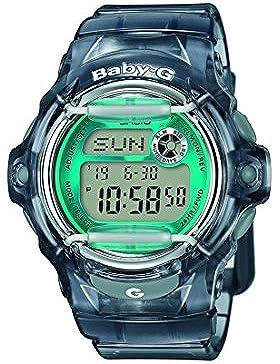 Casio Baby-G – Damen-Armbanduhr mit Digital-Display und Resin-Armband – BG-169R-8BER