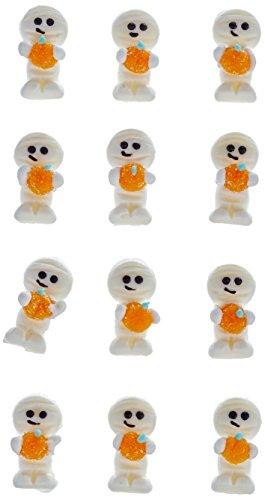Dekoback Zuckerdekor Mumie, 12 Stück, 1er Pack (1 x 5 g) (Kuchen Cupcakes Halloween Mumie)