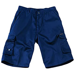 Tuffstuff Mens Pro Cargo Style Work Shorts Navy 38