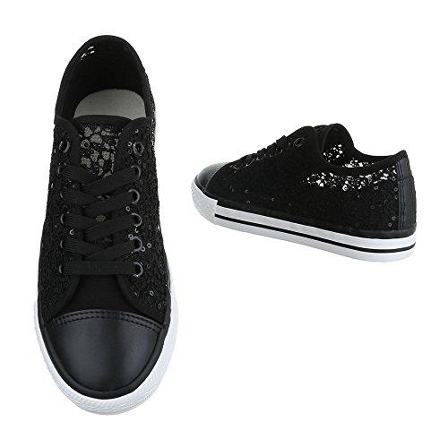 Ital-Design - Pantofole Donna Nero