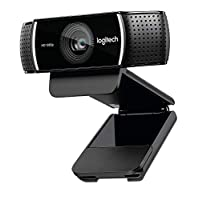 Logitech C922 Pro Stream Full HD Webcam with Mic and Adjustable Tripod