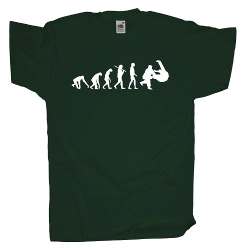 Ma2ca - Evolution - Judo Ringer T-Shirt Bottle Green