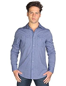Camicia uomo - Azzurro - Peacekeeper