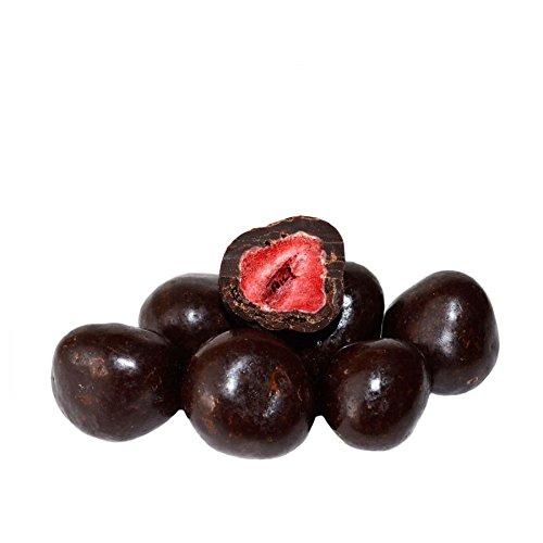 Gefriergetrocknete Erdbeeren in Zartbitterschokolade 250 g