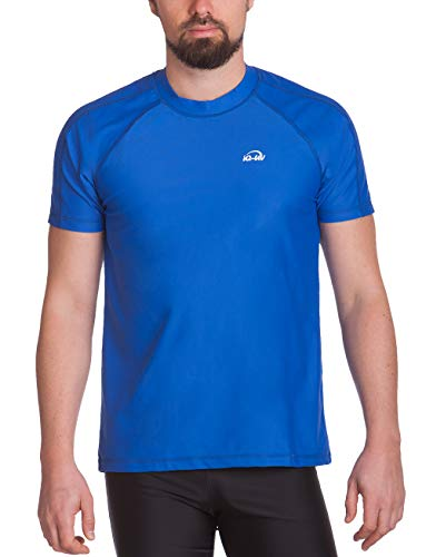 iQ-UV Herren UV-Schutz T-Shirt IQ 300 Watersport, dark-blue, XL (54)