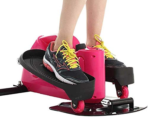 41flv%2BXOL L - Lcyy-step Stepper Trainers Home Mini Walking Stepping Machine with Adjustable Resistance and LCD Display Pink