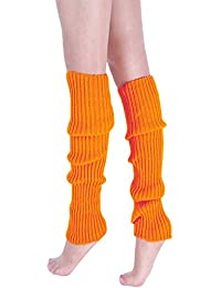 94db6d9d848e5 Koly Femme Jambières tricotées Cuisse Hiver Guêtres 42cm Crochet Tricoté Bas  La Laine Yoga Leggings Couverture