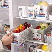 Food & Vegetables Storage Box Organizers - Baskets for Fridge, Kitchen Refrigerator Countertops and Cabine