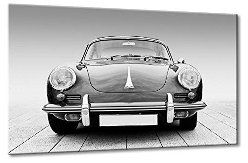 Fine-Art-Manufaktur Porsche Oldtimer 356 Schwarzweiß Traum Bilder Autos Klassiker XXL | Aus der Serie Oldtimer Klassiker | Farbe: schwarzweiss | Rubrik: porsche + Auto Bilder (Klassiker-autos)
