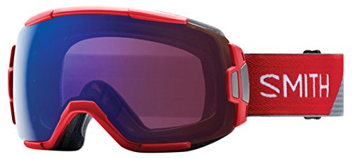 Smith Erwachsene Vice Skibrille, Fire Split, M -