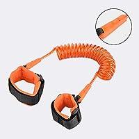 Wenquan,Pulsera de Seguridad para niños(Color:Naranja)