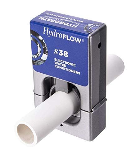 hydroflow | Elektronische Wasserenthärter | ohne Salz keine chemischen Wasser Klimaanlage | entfernt und verhindert Skala aufzubauen | für RVS Warmwasserbereiter und darüber S38 - Salz-wasser-conditioner