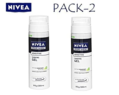 Nivea Men Sensitive Shaving Gel, 200ml