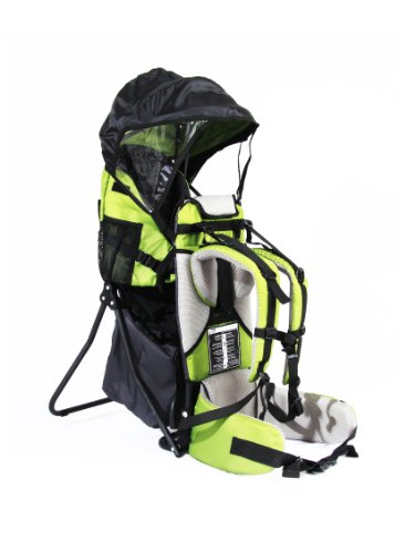 FA Sports Kindertrage Lil Boss Kids Carrier, Grün, 50 x 38 x 90 cm, 1182