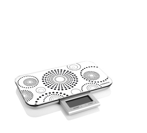 Pebbly Slim Balance Électronique Ultra Fine Blanc