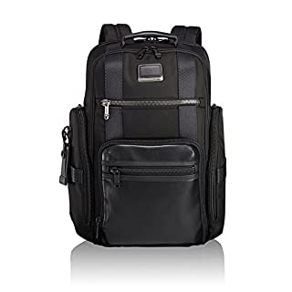 "Tumi Alpha Bravo - Sheppard Deluxe Briefpack 15"" Sac à Dos Loisir, 43 cm, 29.76 liters, Noir (Black) (B07822JMCG) 