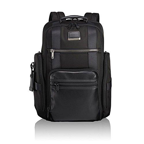 """Tumi Alpha Bravo - Sheppard Deluxe Briefpack 15"""" Zaino Casual, 43 cm, 29.76 liters, Nero (Black)"""