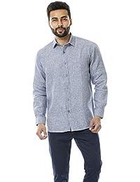 7d5ec8bbe10a Linen Men s Formal Shirts  Buy Linen Men s Formal Shirts online at ...