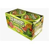 Ice Breakers Mints - 5 Sorten - Cinnamon, Coolmint, Wintergreen, Sours, Green Apple, Watermelon, Tangerine, Mixed Berry, Strawberry, Cherry - Sugar Free - 8x42g (Sours - Green Apple, Watermelon, Tangerine)